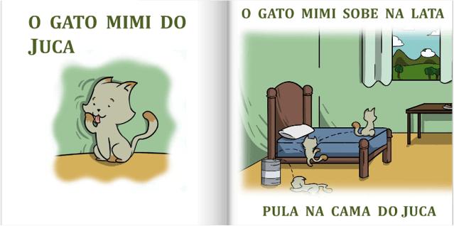 O gato Mimi do Juca