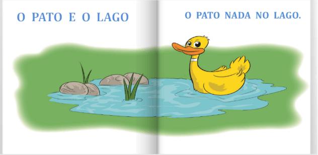 O pato e o lago